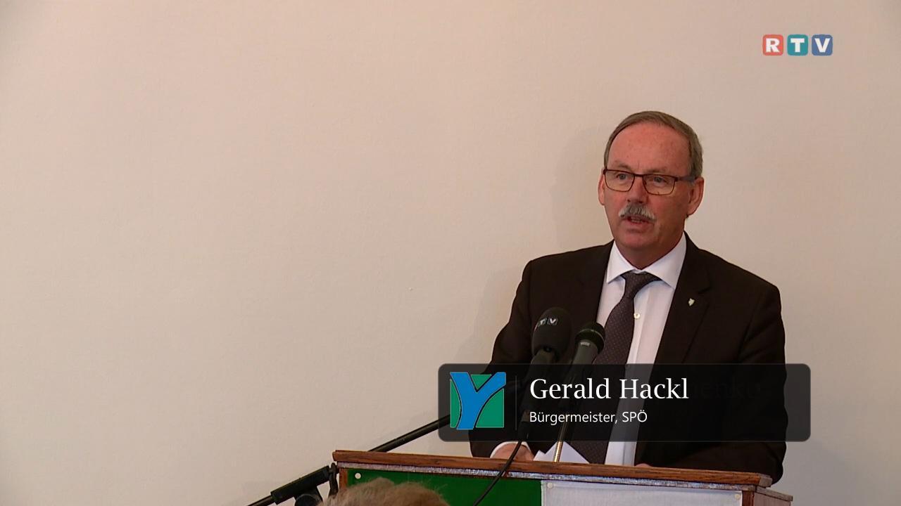Berichterstattung, Gerald Hackl