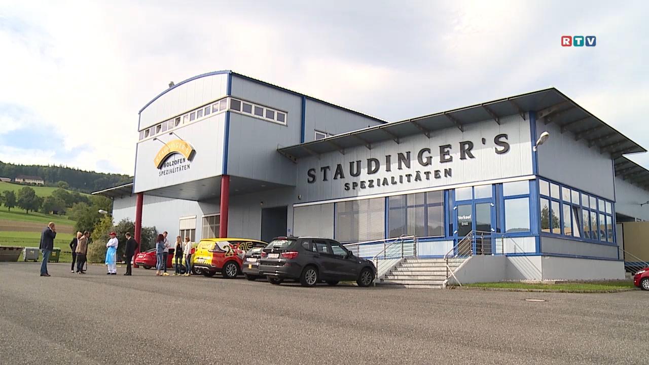 Betriebsbesuch bei Staudinger Spezialitäten