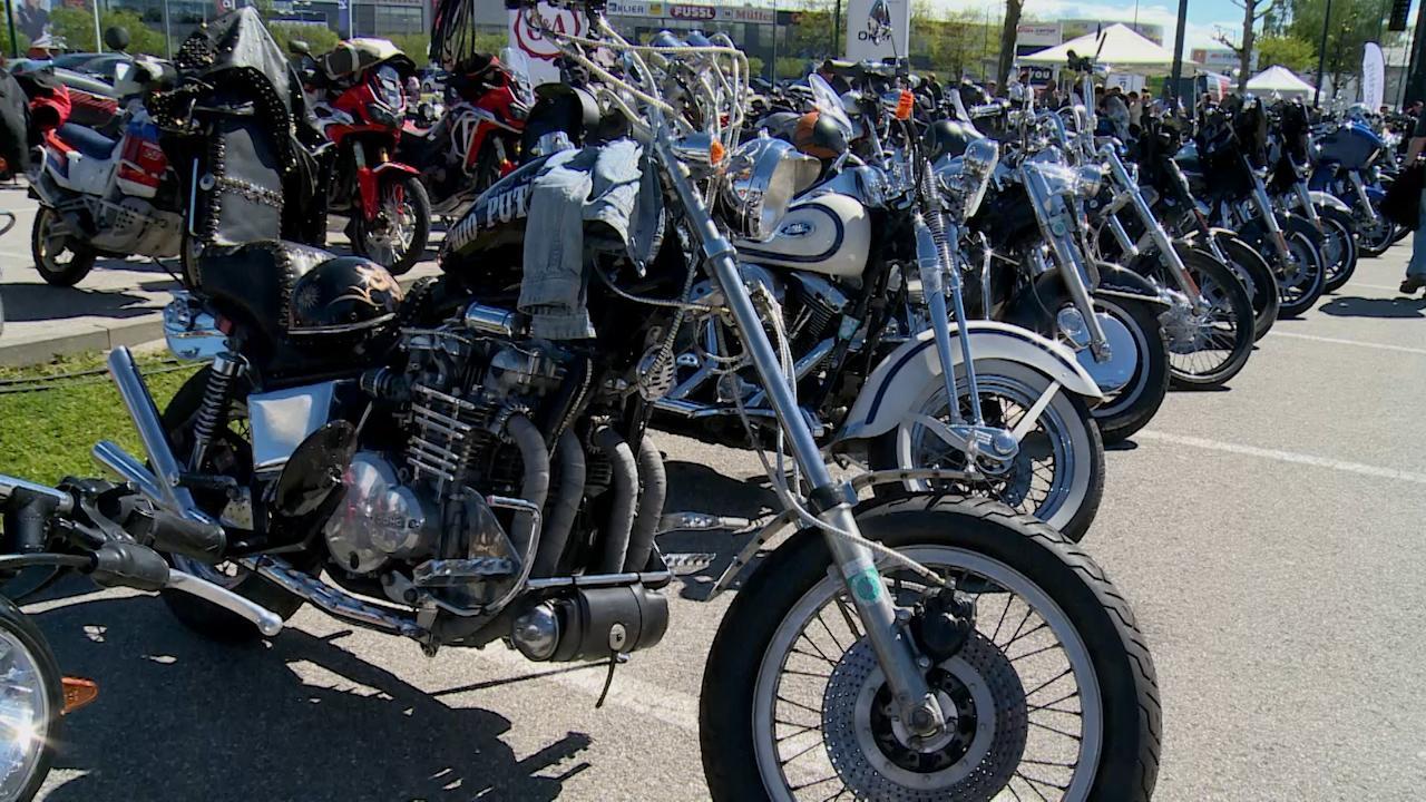 Harley Treffen im Max-Center Wels