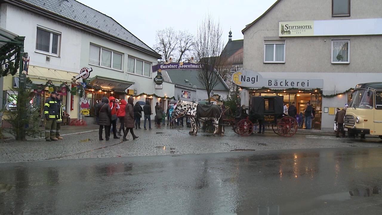 Garstner Adventmarkt Eröffnung 2015